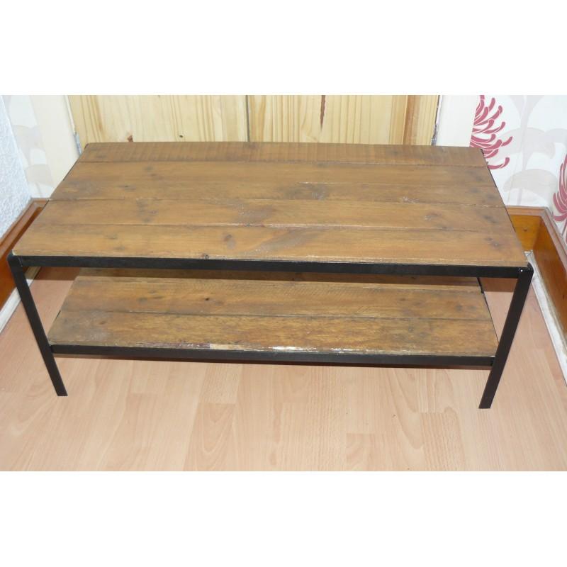 Coffee Table Vintage Style Handmade