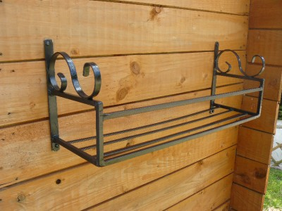 24in window trough holder wimborne wrought iron works