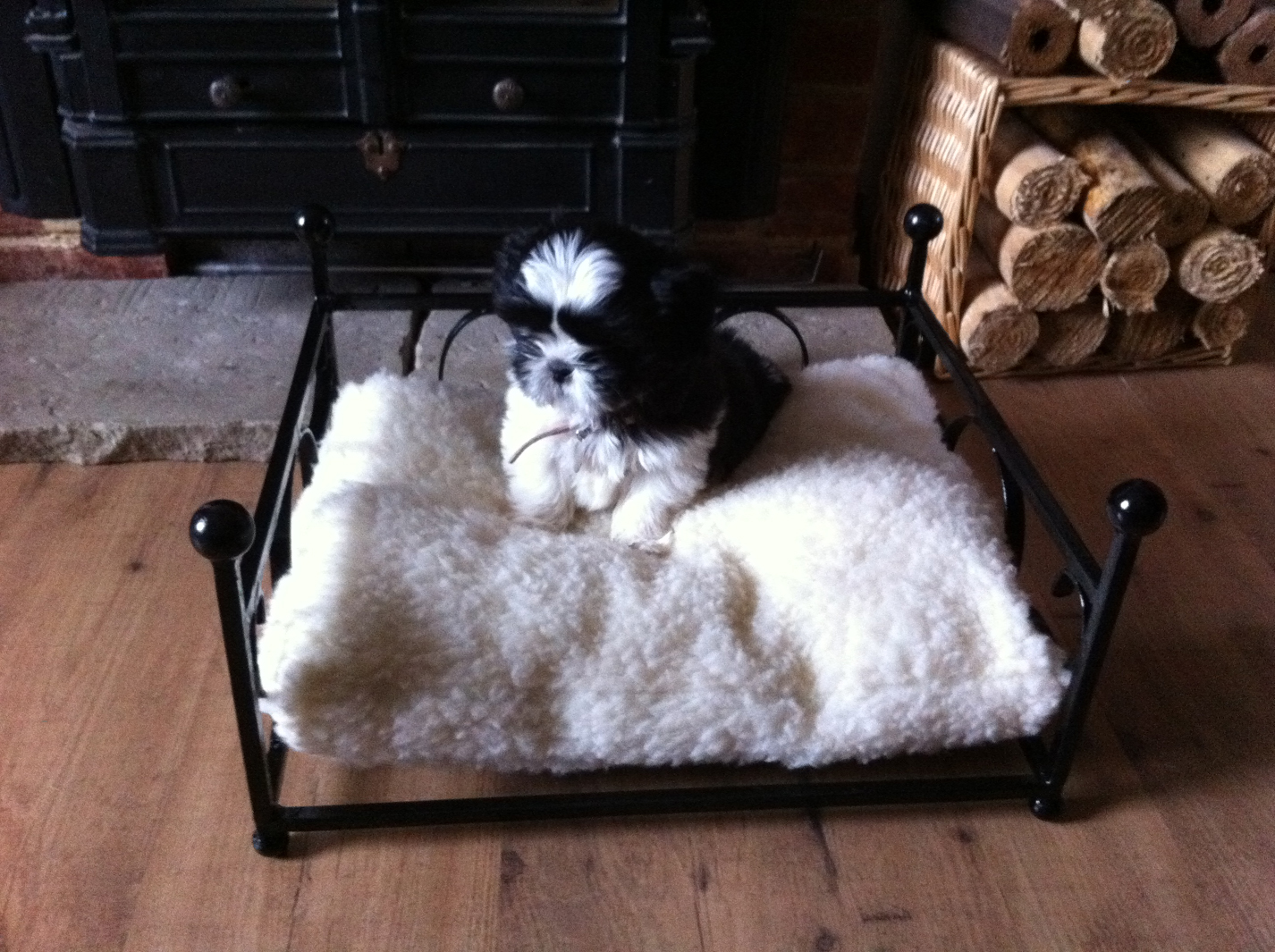 dog bed small wimborne wrought iron works
