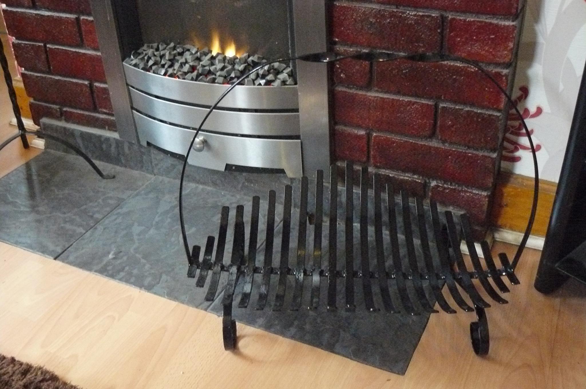 slatted log basket